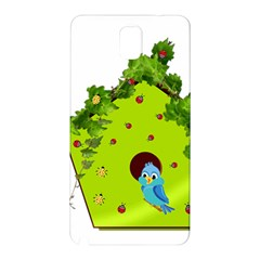 Bluebird Bird Birdhouse Avian Samsung Galaxy Note 3 N9005 Hardshell Back Case