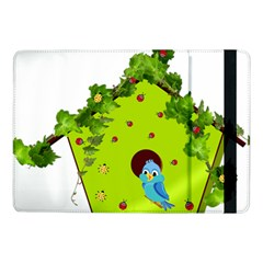 Bluebird Bird Birdhouse Avian Samsung Galaxy Tab Pro 10 1  Flip Case