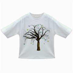 Tree Fantasy Magic Hearts Flowers Infant/toddler T Shirts