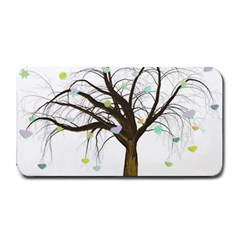 Tree Fantasy Magic Hearts Flowers Medium Bar Mats