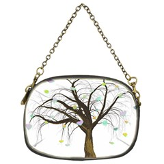 Tree Fantasy Magic Hearts Flowers Chain Purses (Two Sides)