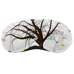 Tree Fantasy Magic Hearts Flowers Sleeping Masks