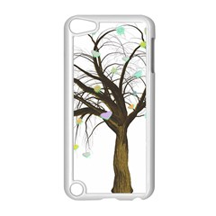 Tree Fantasy Magic Hearts Flowers Apple Ipod Touch 5 Case (white)