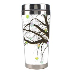 Tree Fantasy Magic Hearts Flowers Stainless Steel Travel Tumblers