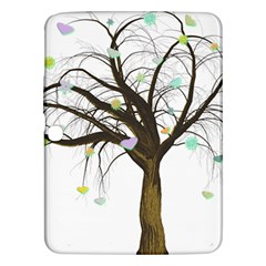 Tree Fantasy Magic Hearts Flowers Samsung Galaxy Tab 3 (10 1 ) P5200 Hardshell Case