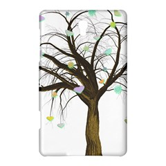 Tree Fantasy Magic Hearts Flowers Samsung Galaxy Tab S (8 4 ) Hardshell Case