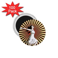 Woman Power Glory Affirmation 1 75  Magnets (100 Pack)