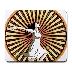 Woman Power Glory Affirmation Large Mousepads