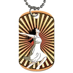 Woman Power Glory Affirmation Dog Tag (Two Sides)
