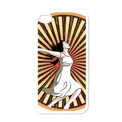 Woman Power Glory Affirmation Apple iPhone 4 Case (White)