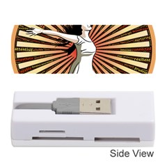 Woman Power Glory Affirmation Memory Card Reader (stick)