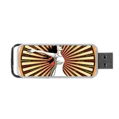Woman Power Glory Affirmation Portable USB Flash (Two Sides)