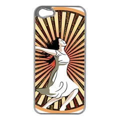 Woman Power Glory Affirmation Apple Iphone 5 Case (silver)