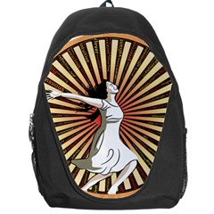 Woman Power Glory Affirmation Backpack Bag