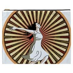 Woman Power Glory Affirmation Cosmetic Bag (xxxl)