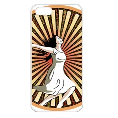 Woman Power Glory Affirmation Apple Iphone 5 Seamless Case (white)