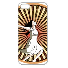 Woman Power Glory Affirmation Apple Seamless Iphone 5 Case (clear)