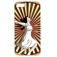 Woman Power Glory Affirmation Apple Iphone 5 Hardshell Case With Stand