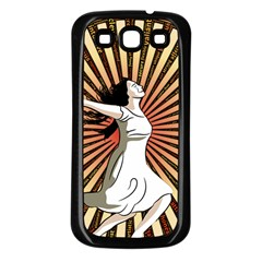 Woman Power Glory Affirmation Samsung Galaxy S3 Back Case (black)