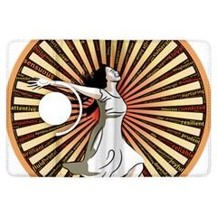 Woman Power Glory Affirmation Kindle Fire HDX Flip 360 Case