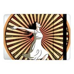 Woman Power Glory Affirmation Samsung Galaxy Tab Pro 10 1  Flip Case