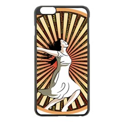 Woman Power Glory Affirmation Apple Iphone 6 Plus/6s Plus Black Enamel Case