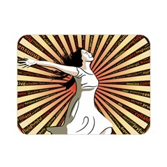 Woman Power Glory Affirmation Double Sided Flano Blanket (mini)