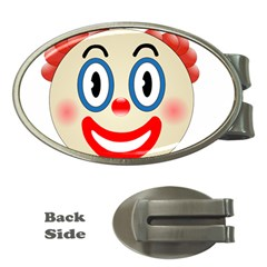 Clown Funny Make Up Whatsapp Money Clips (oval)