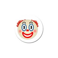 Clown Funny Make Up Whatsapp Golf Ball Marker