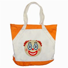 Clown Funny Make Up Whatsapp Accent Tote Bag