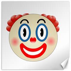 Clown Funny Make Up Whatsapp Canvas 12  X 12