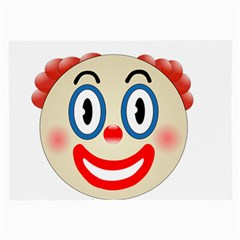 Clown Funny Make Up Whatsapp Large Glasses Cloth