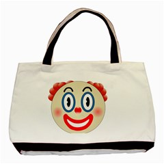 Clown Funny Make Up Whatsapp Basic Tote Bag (two Sides)