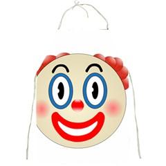 Clown Funny Make Up Whatsapp Full Print Aprons