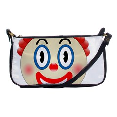 Clown Funny Make Up Whatsapp Shoulder Clutch Bags