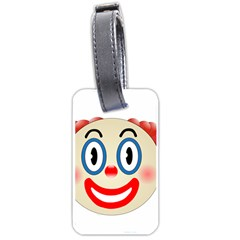 Clown Funny Make Up Whatsapp Luggage Tags (one Side)