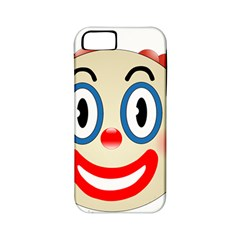 Clown Funny Make Up Whatsapp Apple Iphone 5 Classic Hardshell Case (pc+silicone)