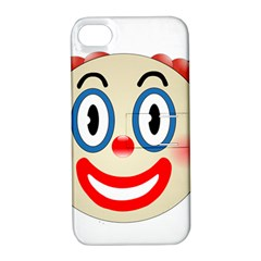 Clown Funny Make Up Whatsapp Apple iPhone 4/4S Hardshell Case with Stand