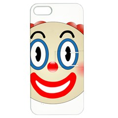 Clown Funny Make Up Whatsapp Apple iPhone 5 Hardshell Case with Stand