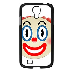Clown Funny Make Up Whatsapp Samsung Galaxy S4 I9500/ I9505 Case (black)