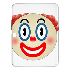 Clown Funny Make Up Whatsapp Samsung Galaxy Tab 3 (10 1 ) P5200 Hardshell Case