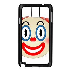 Clown Funny Make Up Whatsapp Samsung Galaxy Note 3 N9005 Case (black)