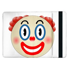 Clown Funny Make Up Whatsapp Samsung Galaxy Tab Pro 12 2  Flip Case