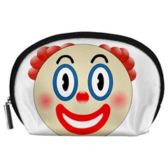 Clown Funny Make Up Whatsapp Accessory Pouches (large)