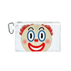 Clown Funny Make Up Whatsapp Canvas Cosmetic Bag (s)
