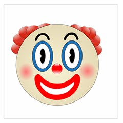 Clown Funny Make Up Whatsapp Large Satin Scarf (square)