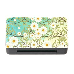 Springtime Scene Memory Card Reader With Cf