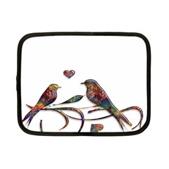 Birds Abstract Exotic Colorful Netbook Case (Small)