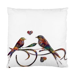 Birds Abstract Exotic Colorful Standard Cushion Case (two Sides)