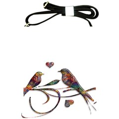 Birds Abstract Exotic Colorful Shoulder Sling Bags